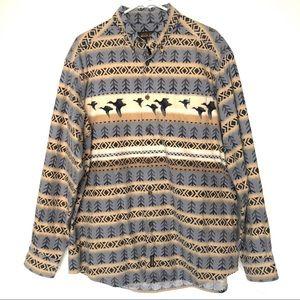 Vintage Woolrich Flannel Button Down Shirt